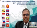 The 22nd ASEAN – OSHNET Coordinating Board Meeting