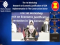 The 1st  Workshop on Economic Justification of Occupational Safety and Health (OSH)