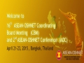 16th ASEAN-OSHNET Coordinating Board Meeting (CBM) and 2nd ASEAN-OSHNET Conference (AOC)